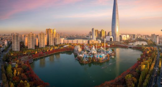 lotte-world-namsan-seoul-tower-sincheon-dong-seoul-south-kor