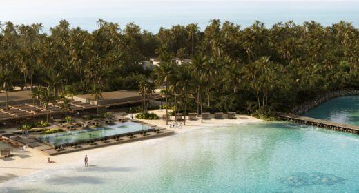 Patina Maldives, Fari Islands - Aerial Shot